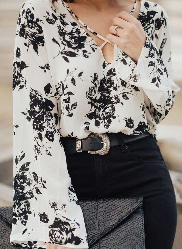 Белая блузка 1470004
