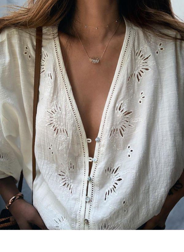 Белая блузка 1470032