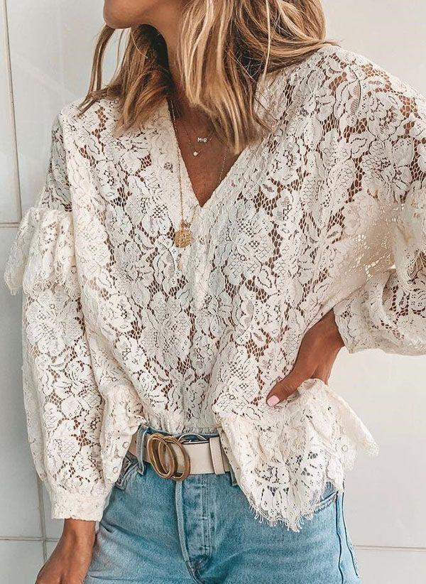Белая блузка 1470039