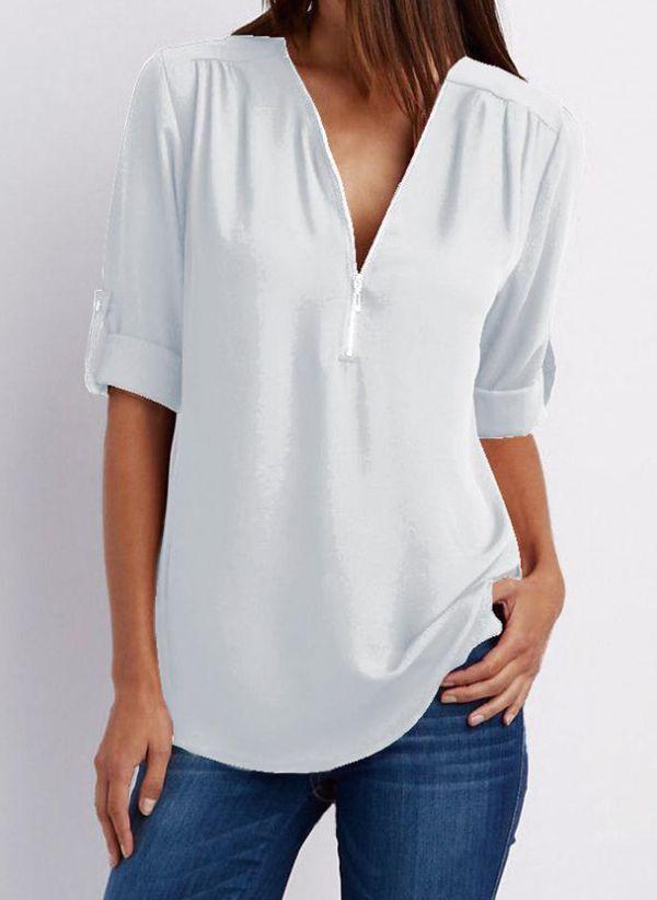 Белая блузка 1470457