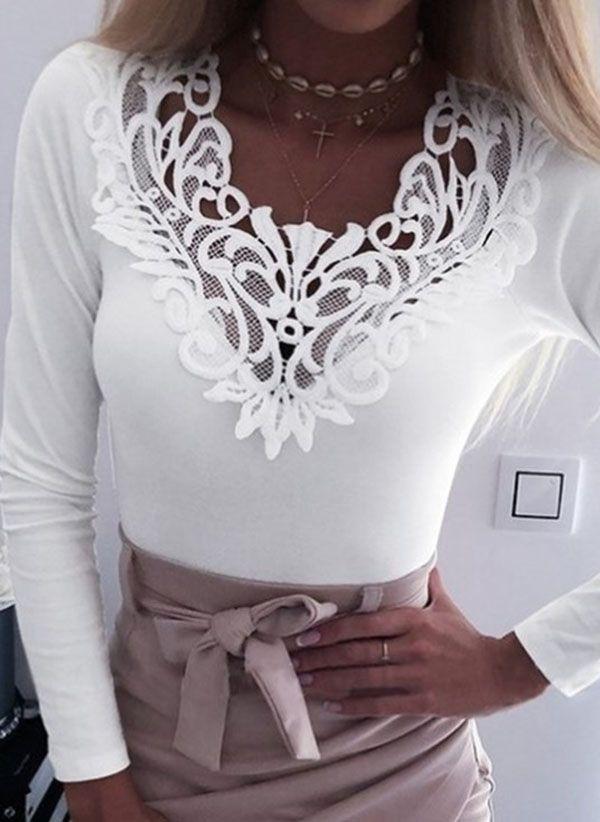 Белая блузка 1472320