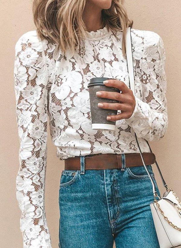 Белая блузка 1473232