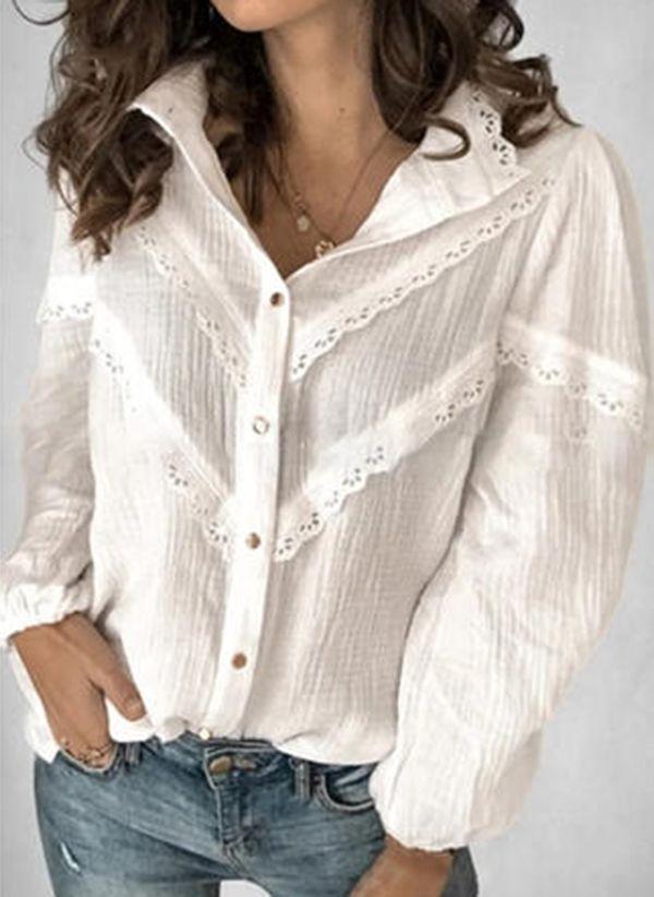 Белая блузка 1477837