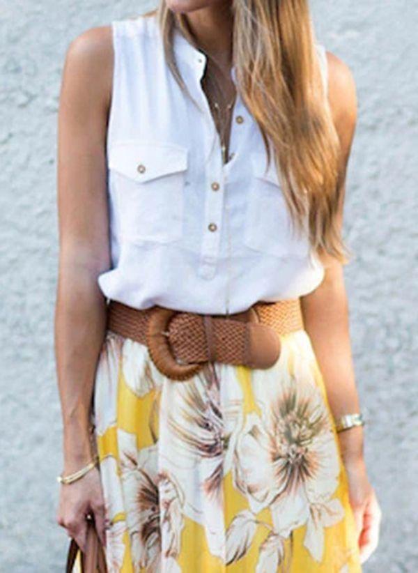 Белая блузка 1480740