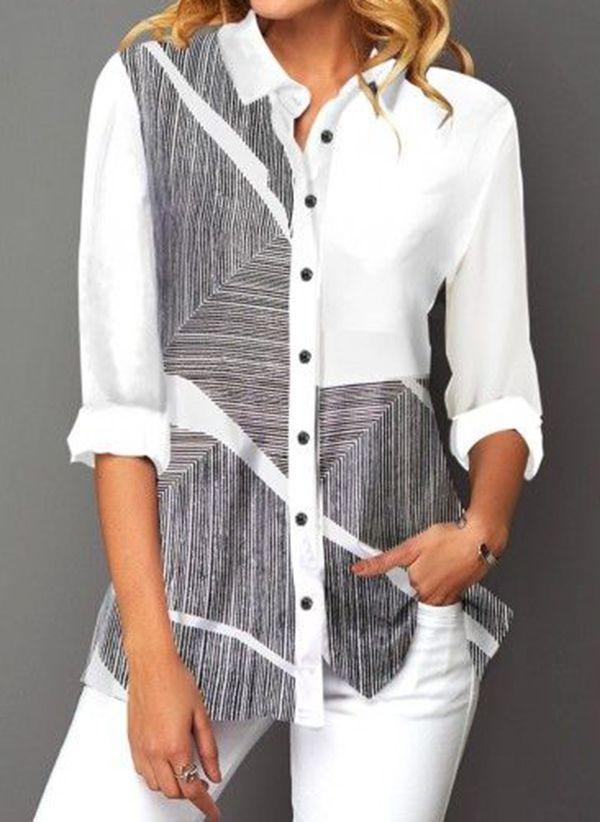 Белая блузка 1481212