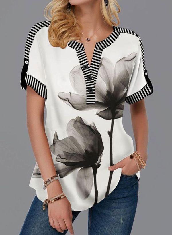 Белая блузка 1483232