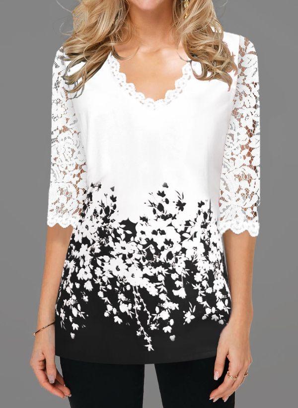 Белая блузка 1483302