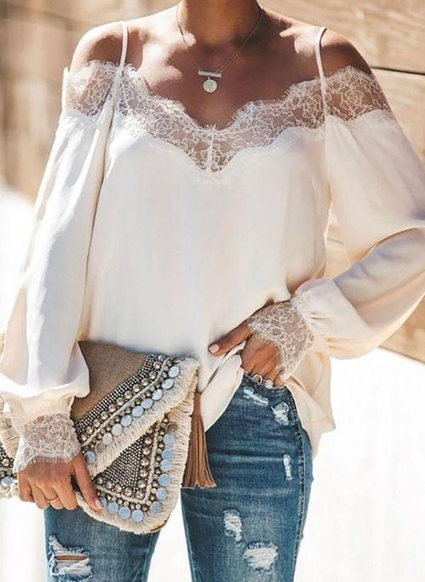 Белая блузка 1483305
