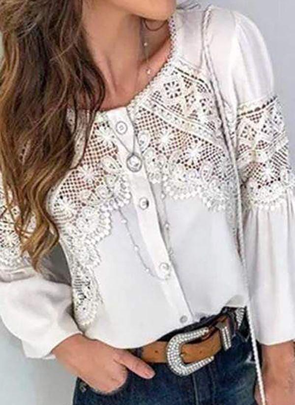 Белая блузка 1483306