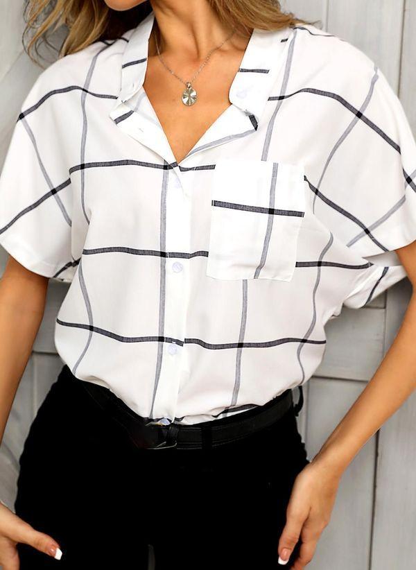 Белая блузка 1483442