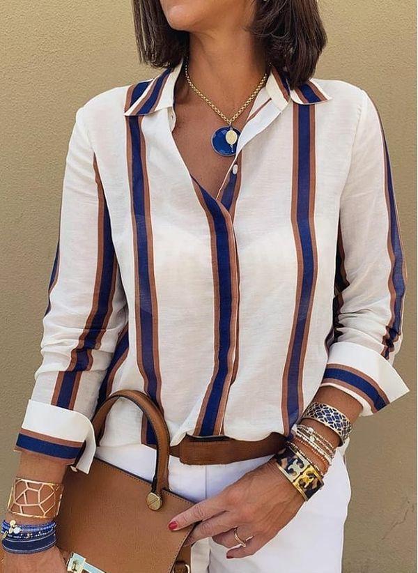 Белая блузка 1485294