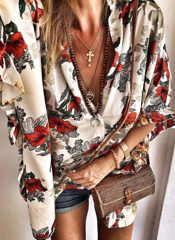 Белая блузка 1485543