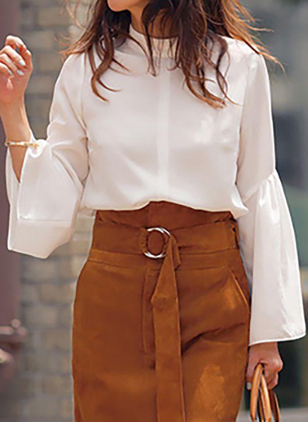 Белая блузка 1486159