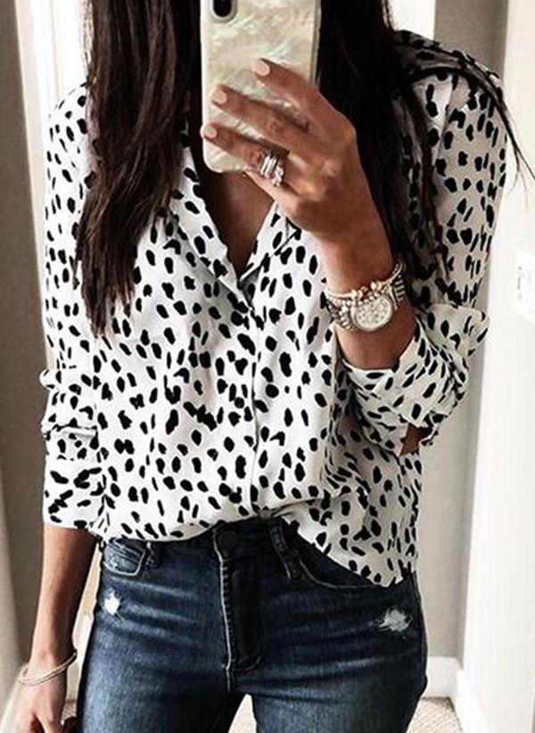 Белая блузка 1486865