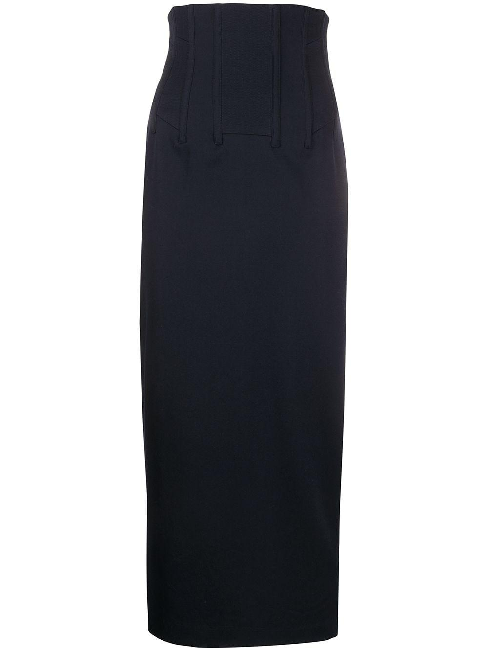 Chalayan corset pencil skirt
