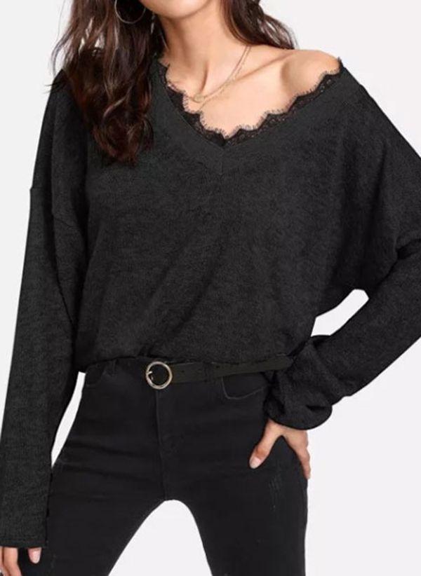 Черные блузки 1434971