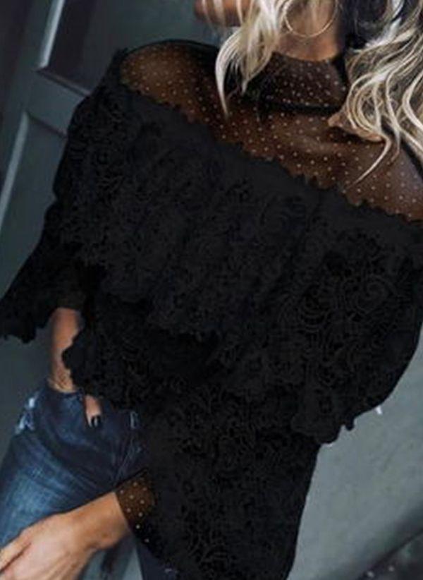 Черные блузки 1445655