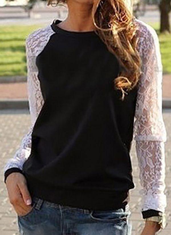 Черные блузки 1449337