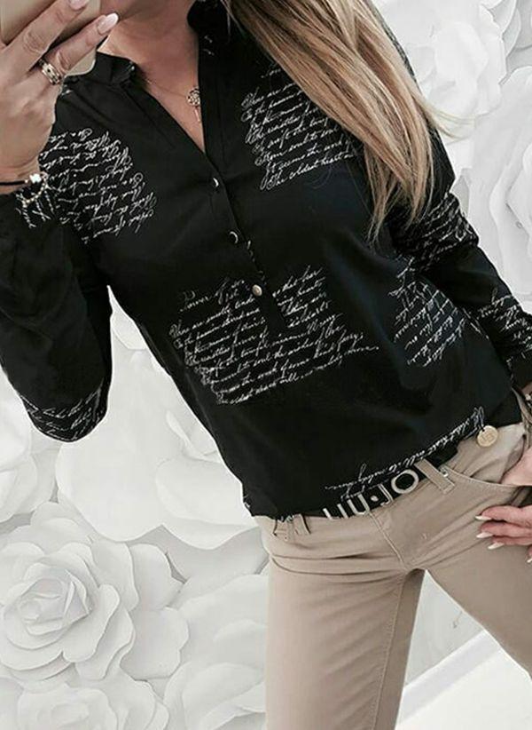 Черные блузки 1453311
