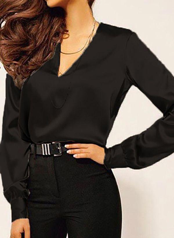 Черные блузки 1456569