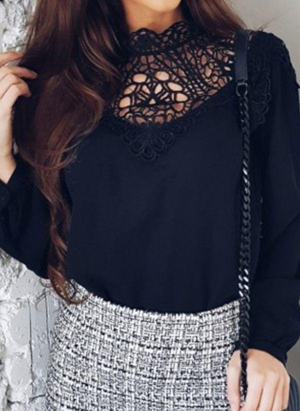 Черные блузки 1457837