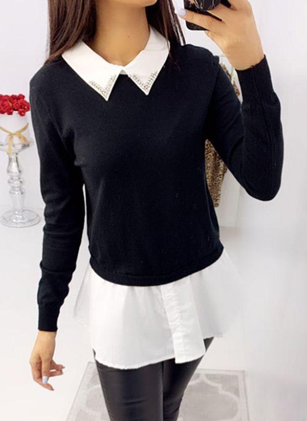 Черные блузки 1461559