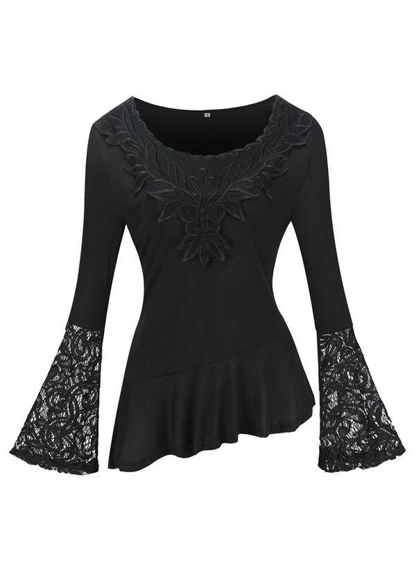Черные блузки 1463153