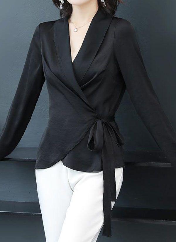 Черные блузки 1467211