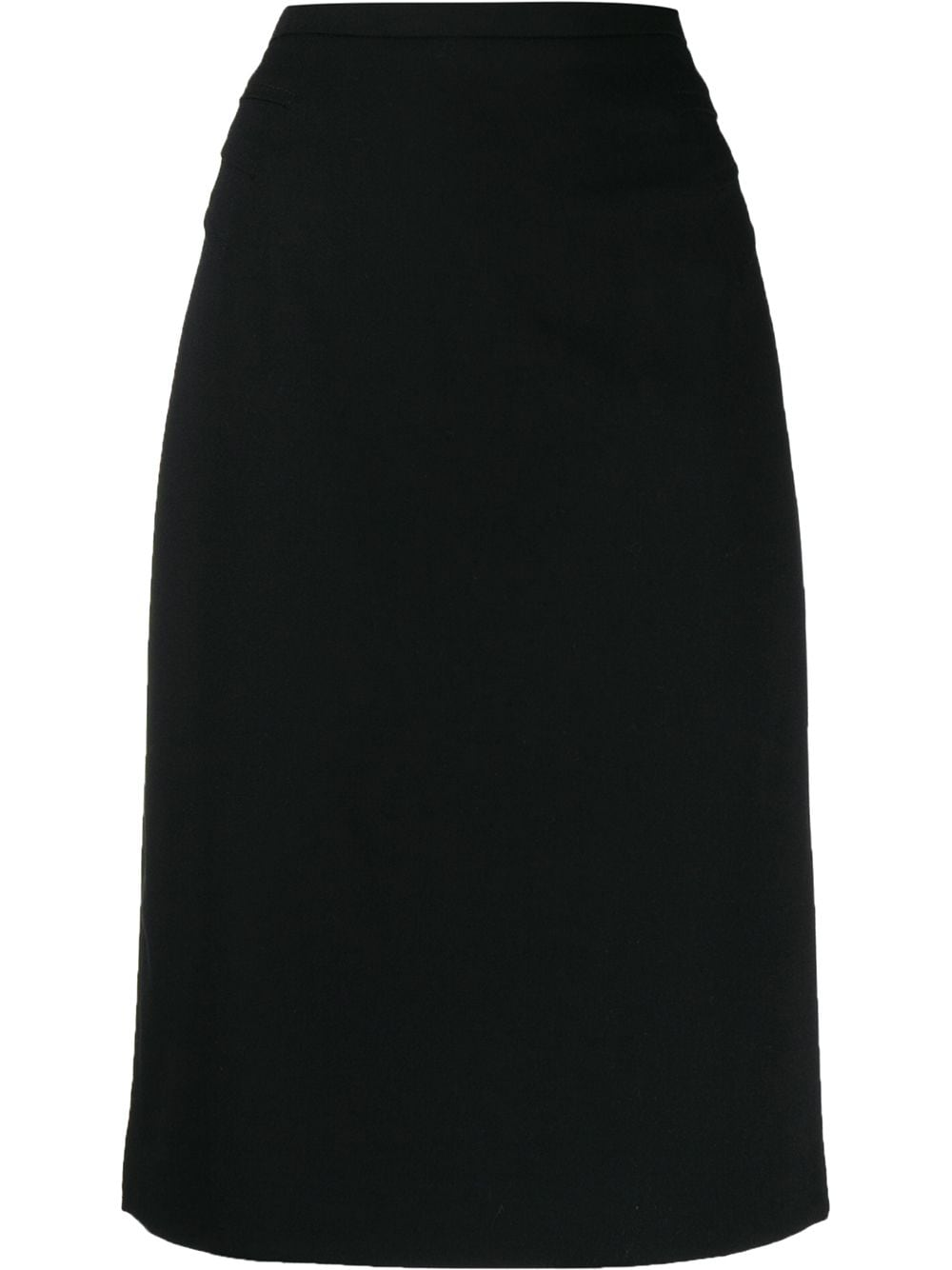 Emporio Armani юбка-карандаш с завышенной талией