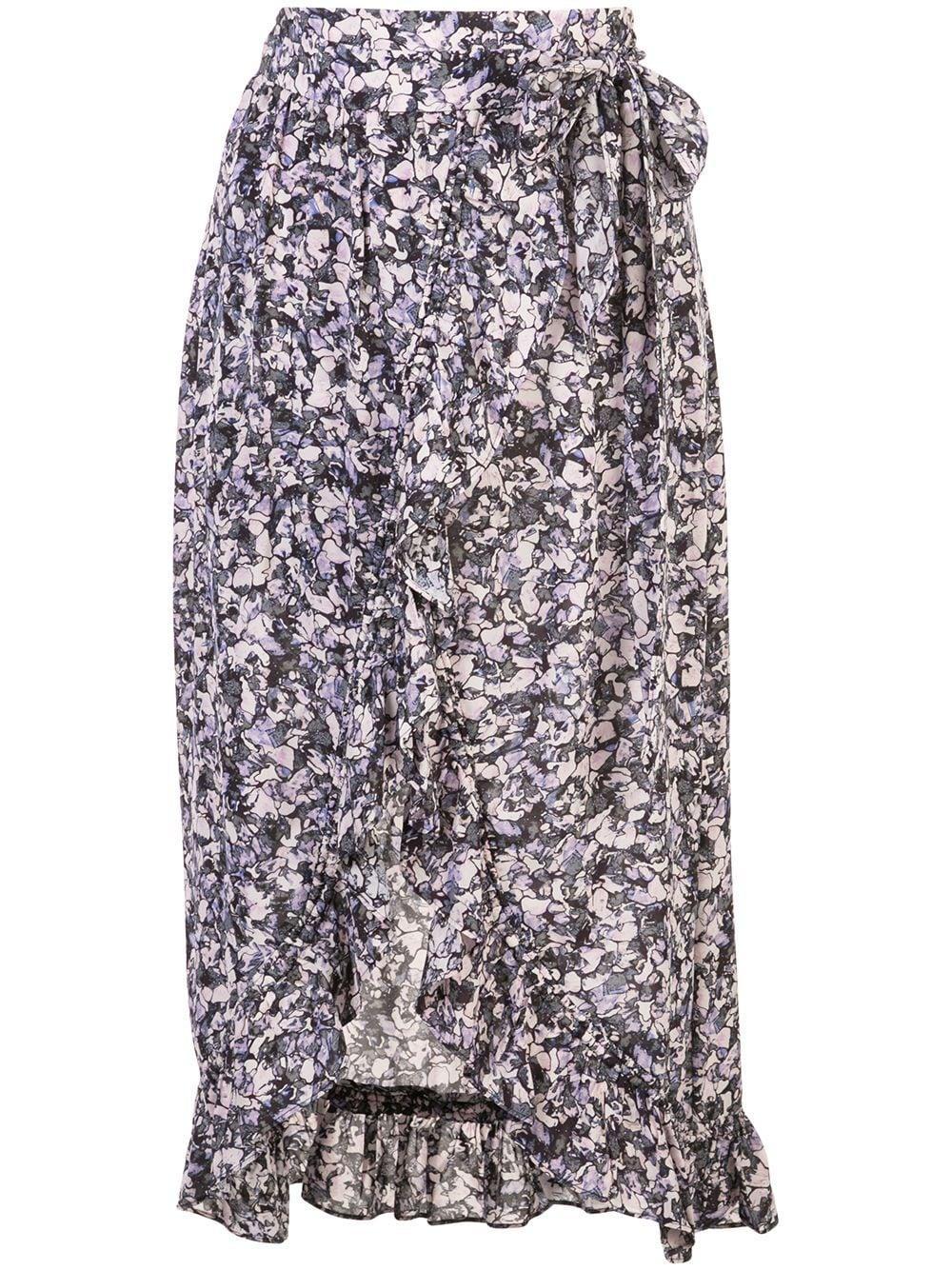 IRO юбка Palmer с запахом