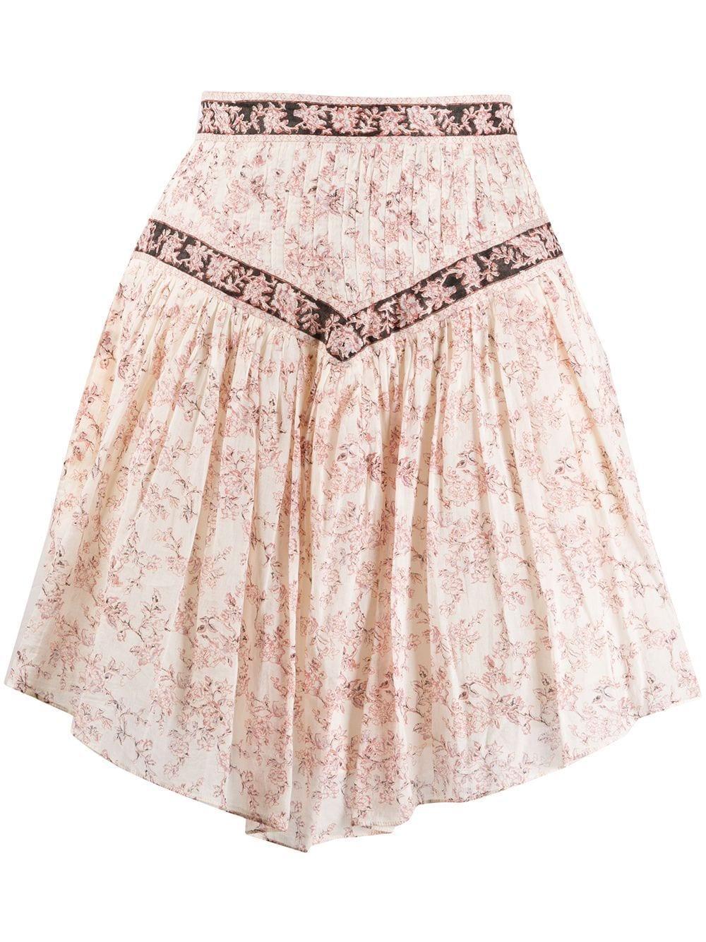 Isabel Marant Étoile Valerie asymmetric mini skirt