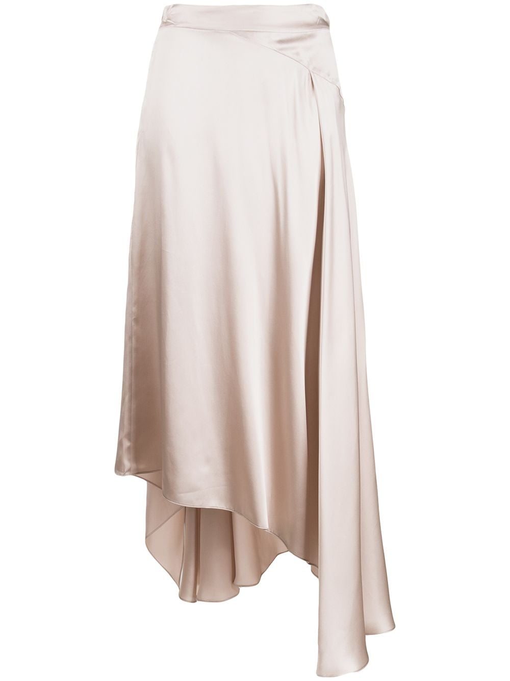 Le Kasha юбка Qargan асимметричного кроя