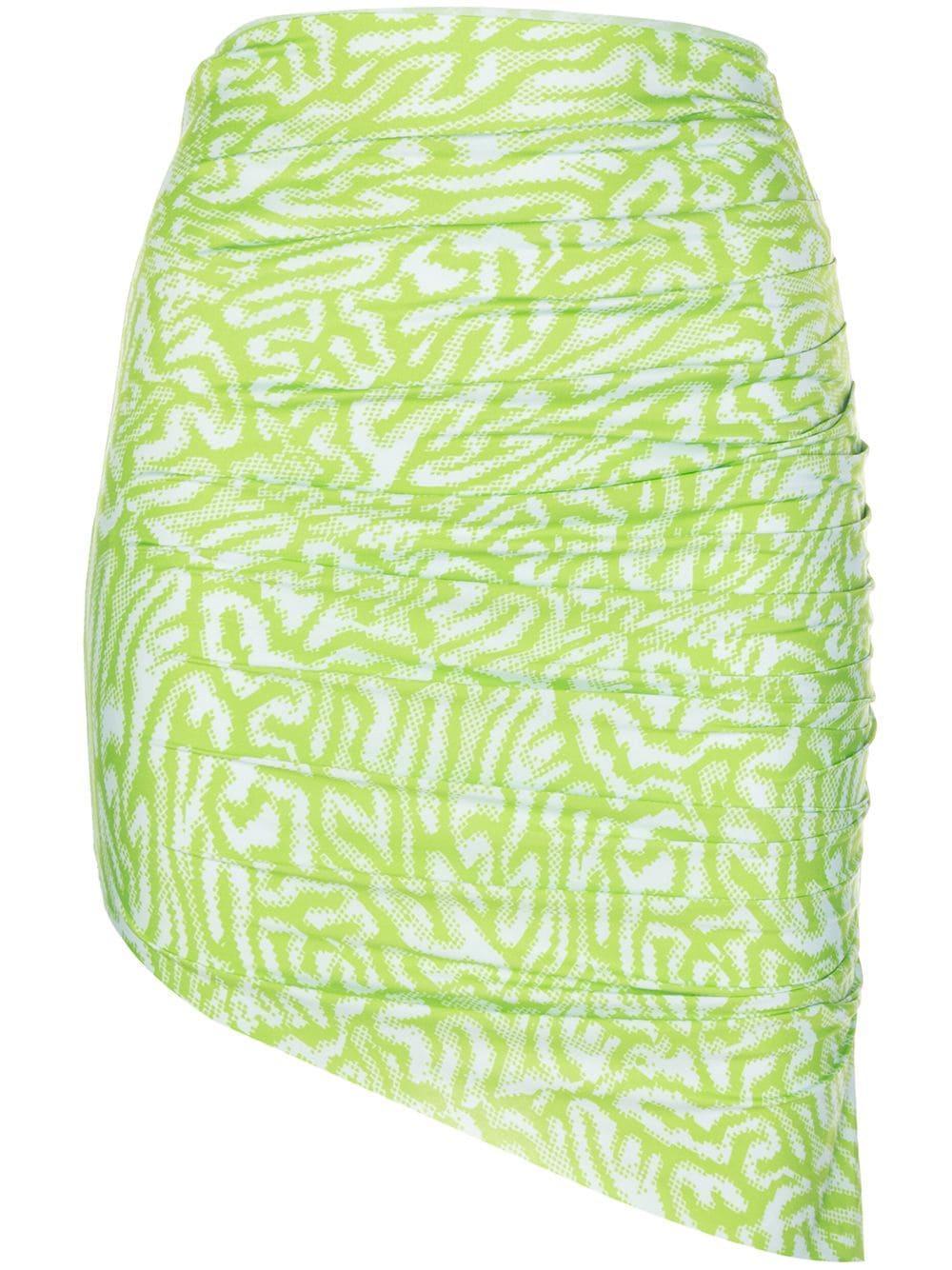 Maisie Wilen graphic-print asymmetric skirt
