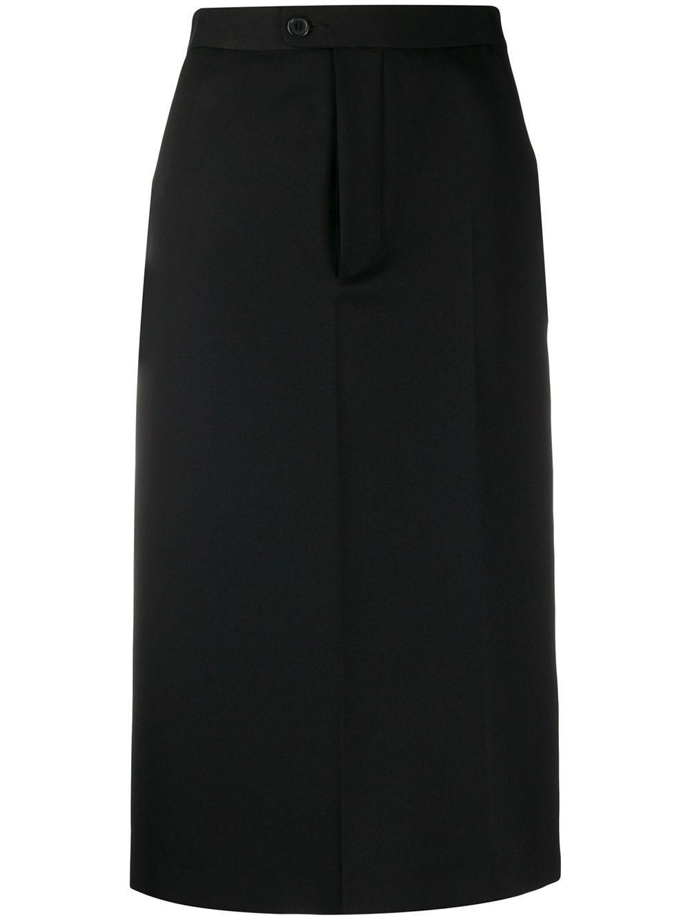 Maison Margiela юбка-карандаш с завышенной талией