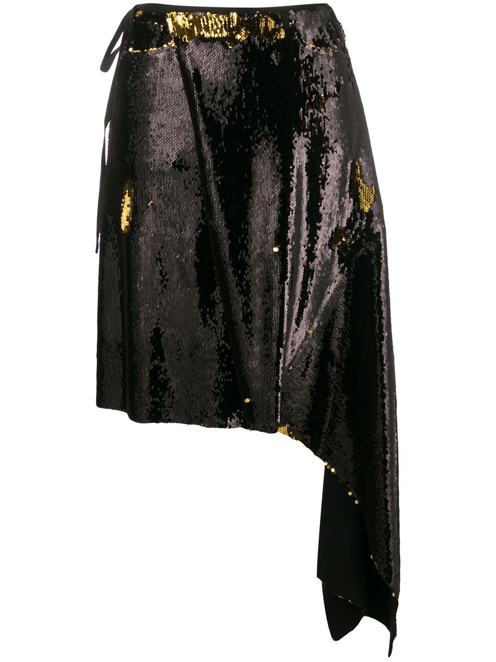 Marques'Almeida юбка с пайетками