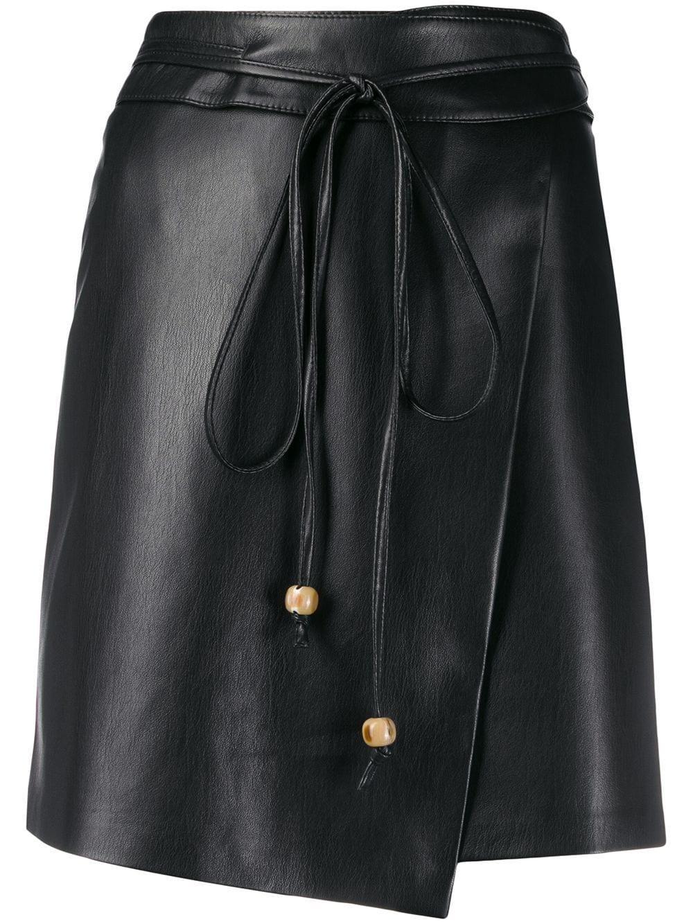 Nanushka юбка асимметричного кроя