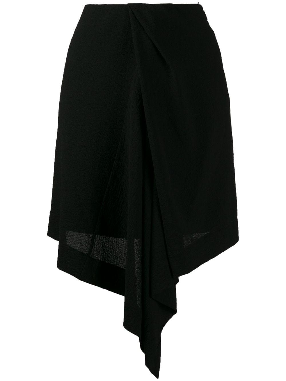 Nina Ricci легкая юбка с асимметричного кроя