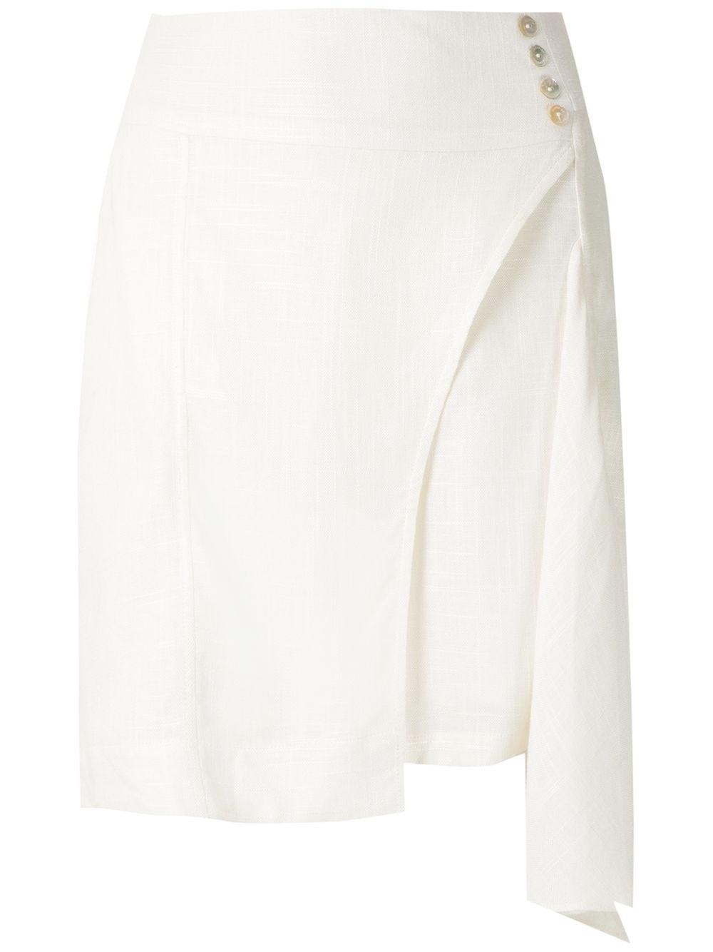 Olympiah короткая юбка Ylang асимметричного кроя