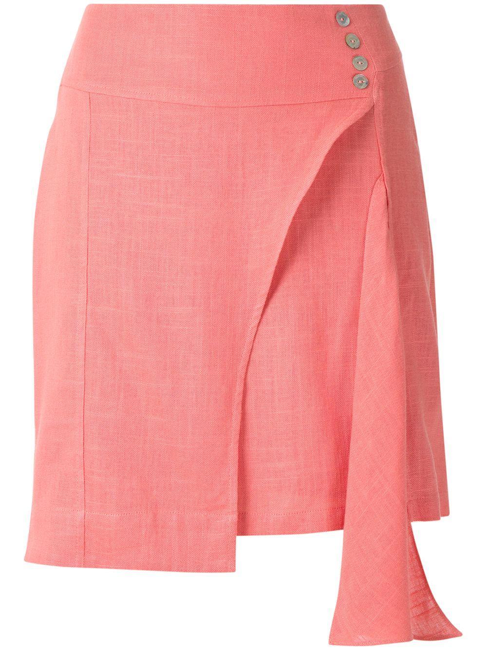 Olympiah юбка Ylang асимметричного кроя