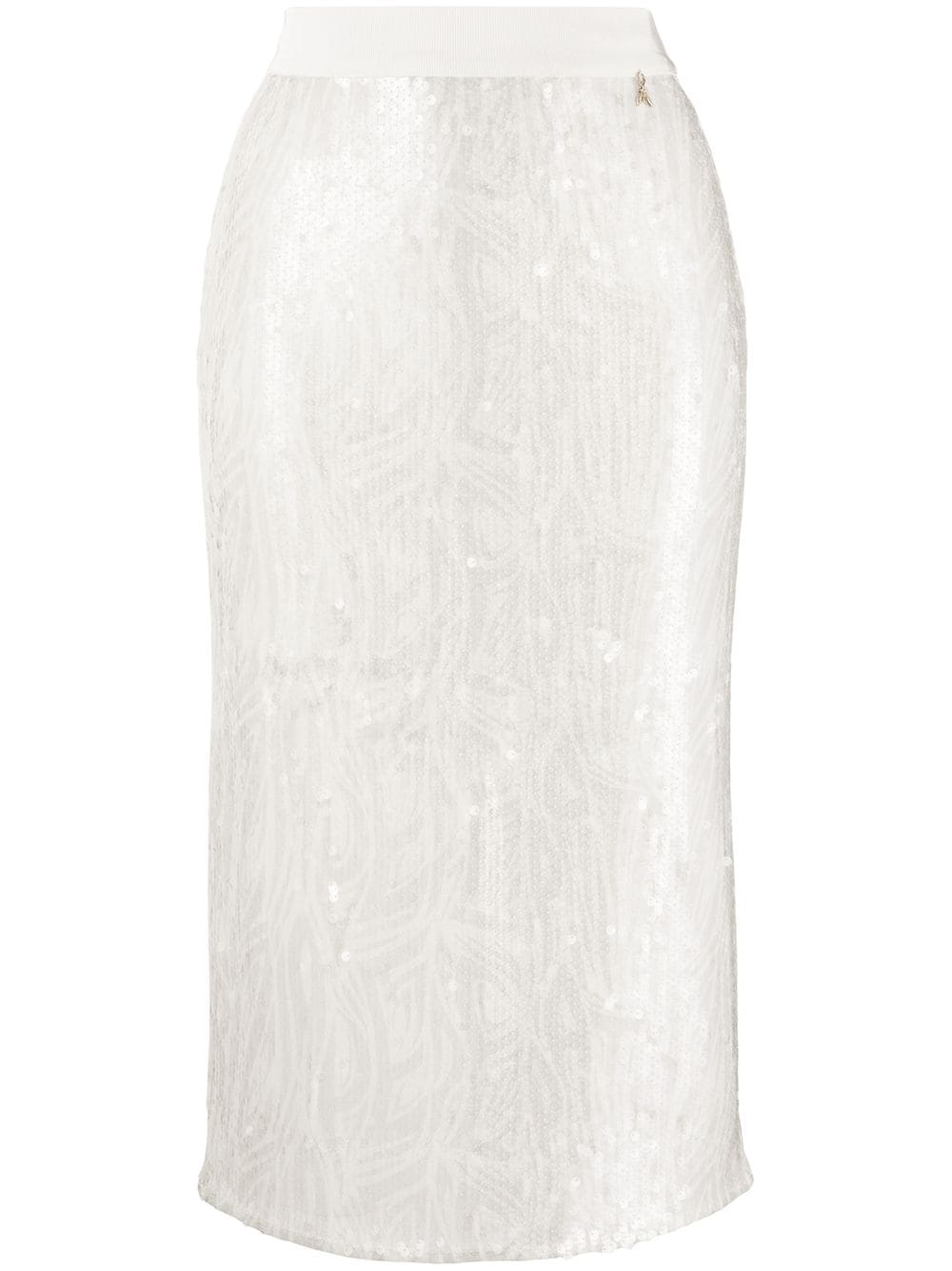Patrizia Pepe sequin embellished pencil skirt