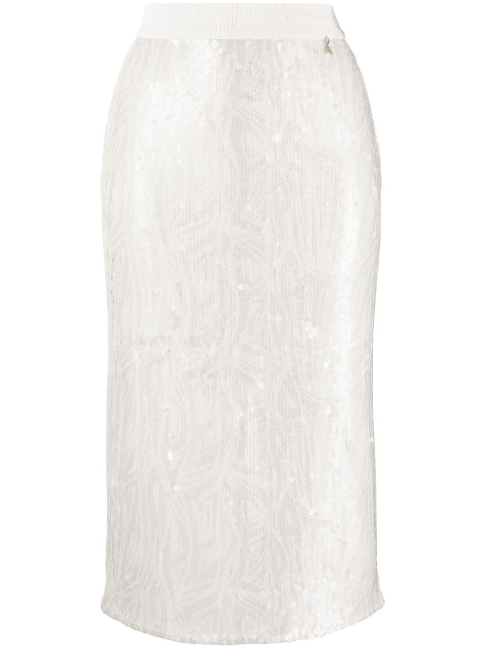Patrizia Pepe юбка-карандаш с пайетками