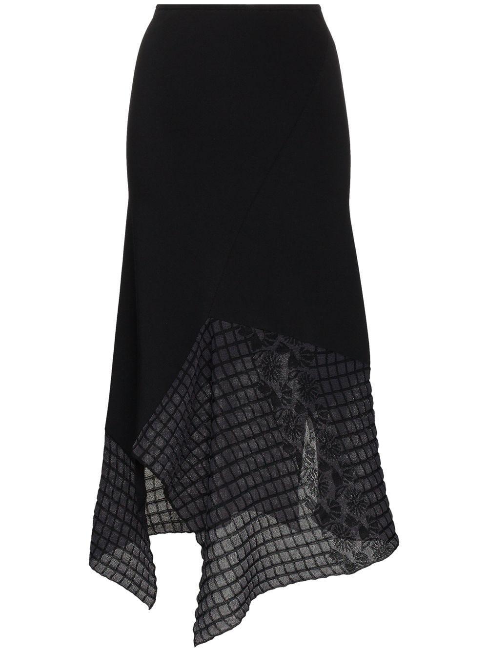 Roland Mouret Loda asymmetric midi skirt