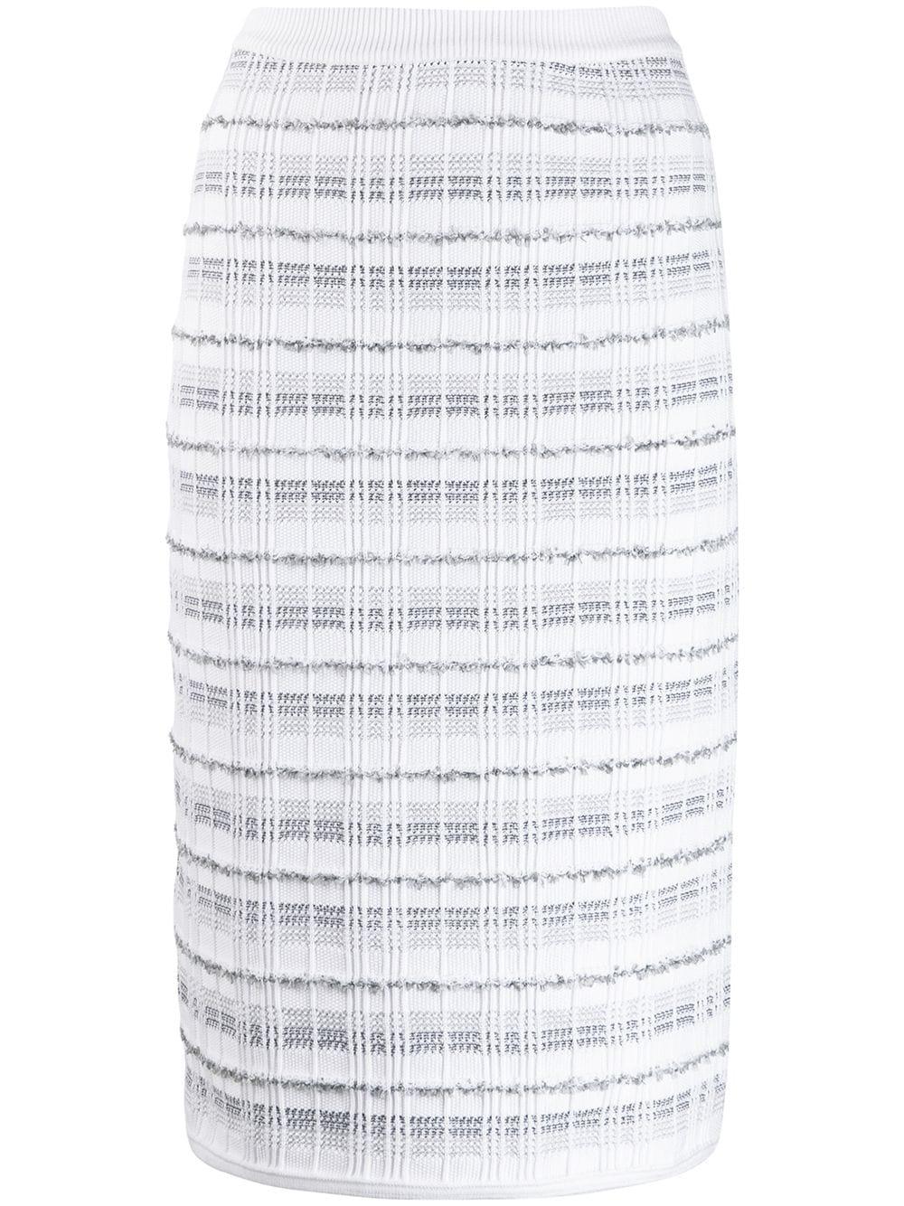 Thom Browne твидовая юбка