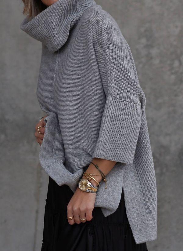 Вязаный свитер осень/зима 2019-2020 1363543