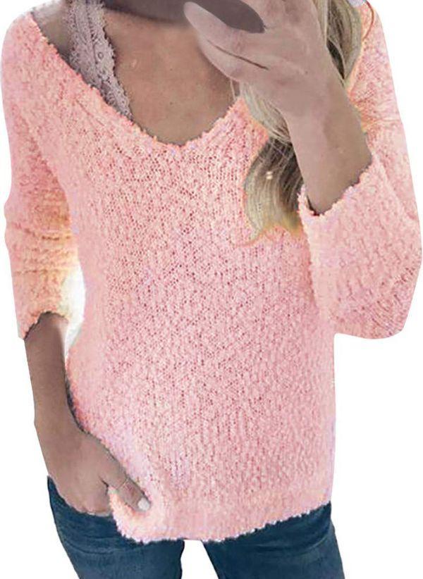 Вязаный свитер осень/зима 2019-2020 1364823