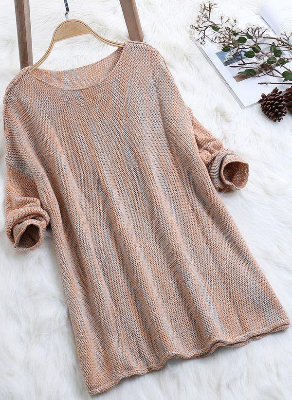 Вязаный свитер осень/зима 2019-2020 1364835
