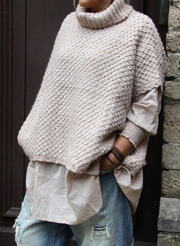 Вязаный свитер осень/зима 2019-2020 1365439