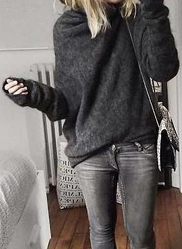 Вязаный свитер осень/зима 2019-2020 1365457