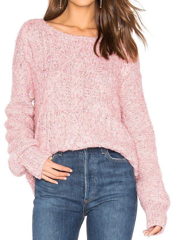 Вязаный свитер осень/зима 2019-2020 1365489