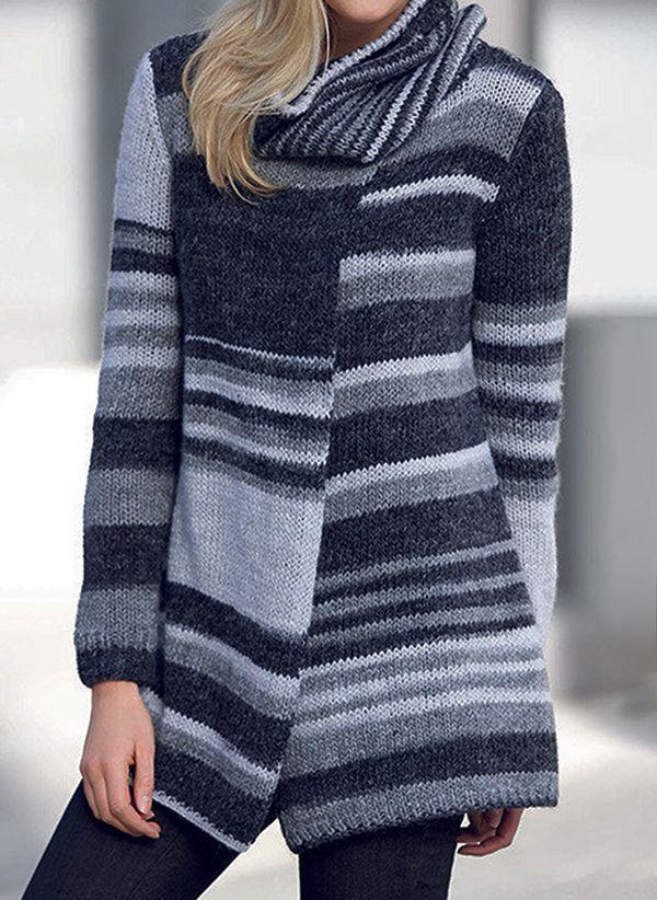 Вязаный свитер осень/зима 2019-2020 1373227